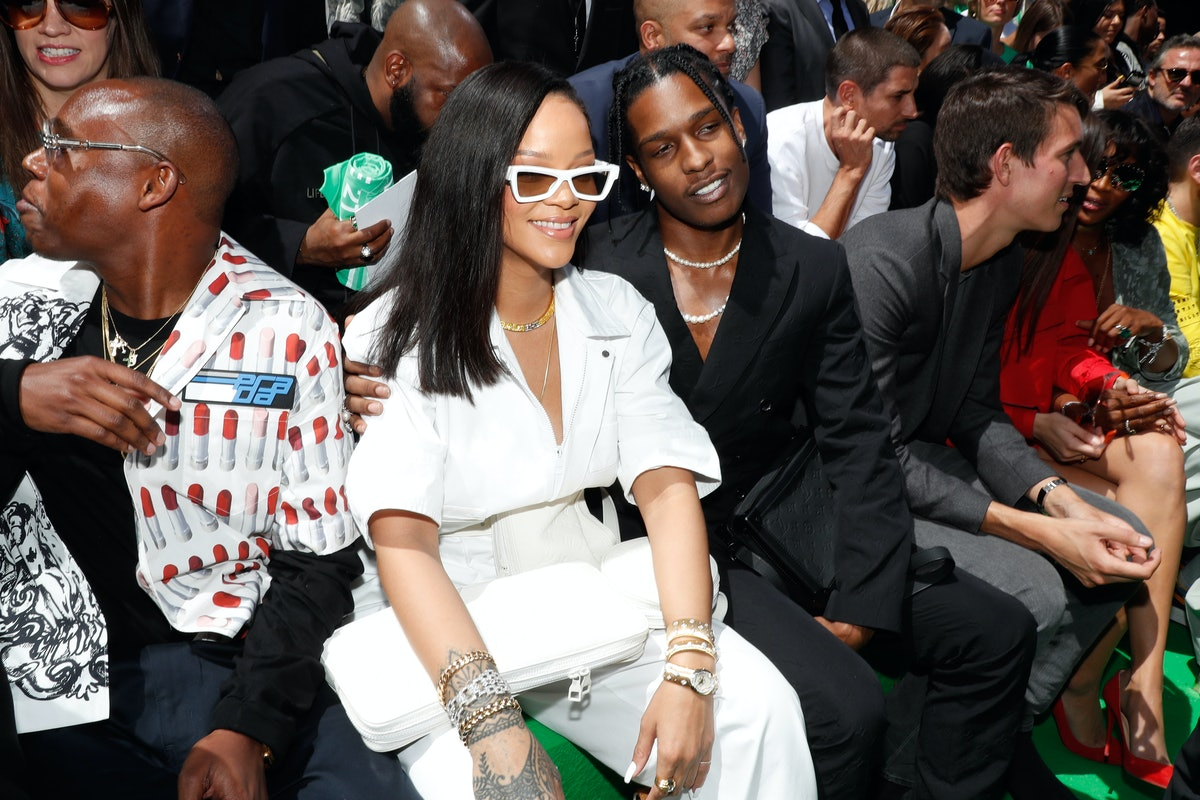 Rihanna's hangout with A$AP Rocky is causing fans to wonder whether they're dating.