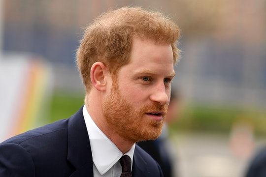 """Prince Harry expressed """"great sadness"""" that it had come to a royal split."""
