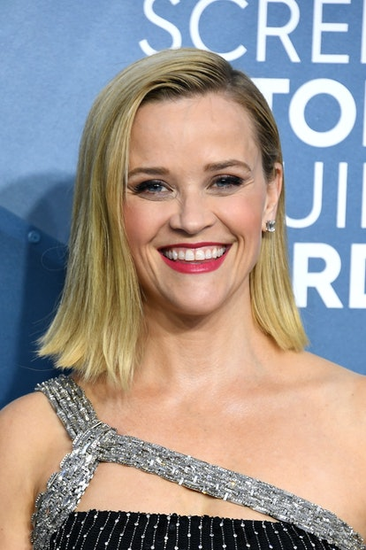 Reese Witherspoon was one of the top 2020 SAG Awards beauty looks of the night