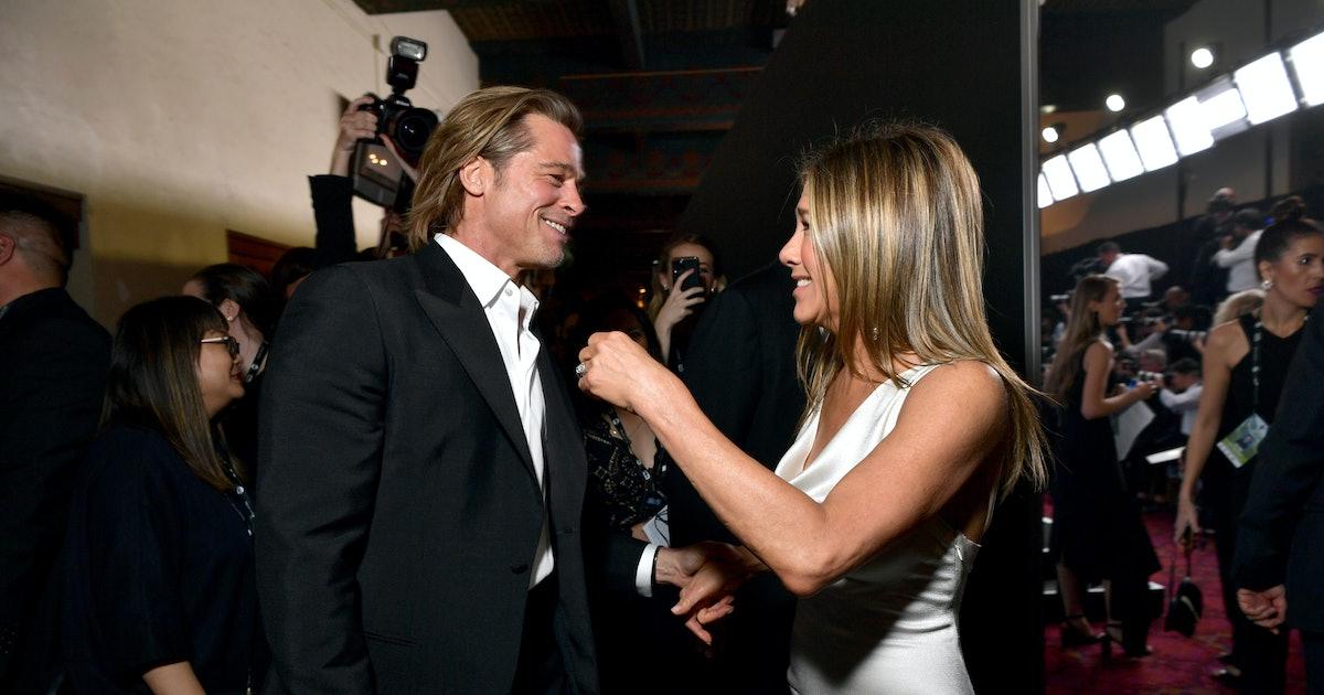 Brad Pitt & Jennifer Aniston's 2020 SAG Awards Reunion Is Making Twitter Nostalgic