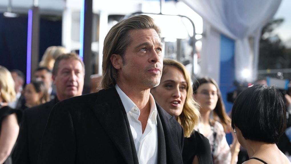 Brad Pitt watched Jennifer Aniston's speech at the SAG Awards