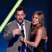Adam Sandler responded to Jennifer Aniston's shoutout during her 2020 SAG Awards acceptance speech.