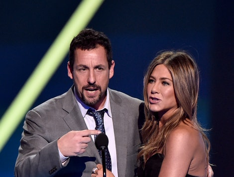 Adam Sandler responded to Jennifer Aniston's shoutout during her 2020 SAG Awards acceptance speech.