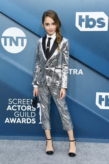 Julia Butters wore pants to the 2020 SAG Awards