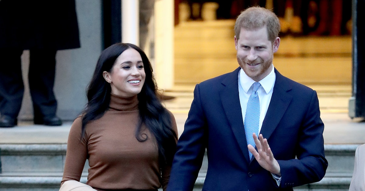 Prince Harry Just Gave A Speech Explaining He & Meghan Markle's Royal Exit