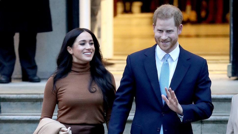 Prince Harry Speaks Out About His and Meghan Markle's Royal Exit ile ilgili görsel sonucu