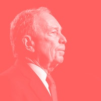 Michael Bloomberg, who owns a monopoly, bravely takes pro tech-monopoly stance