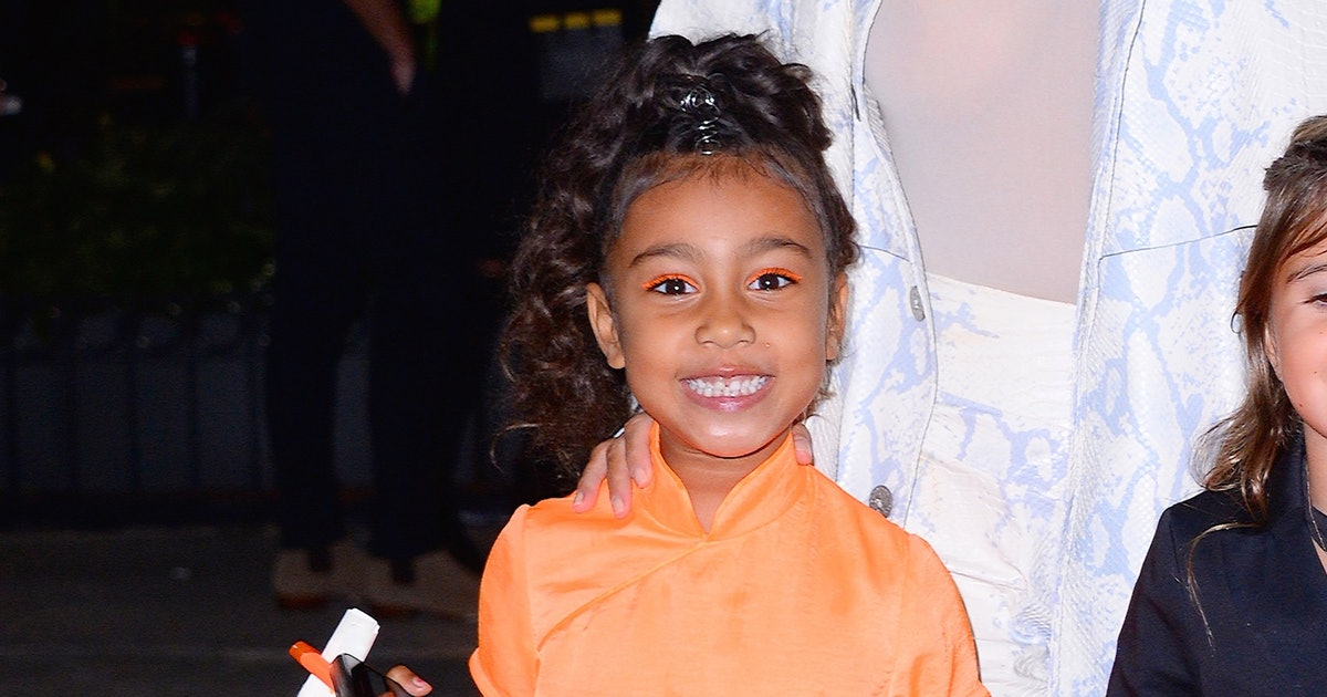 North West Painted 'It' Clown Makeup On Her Siblings & It Is A Sight To Behold