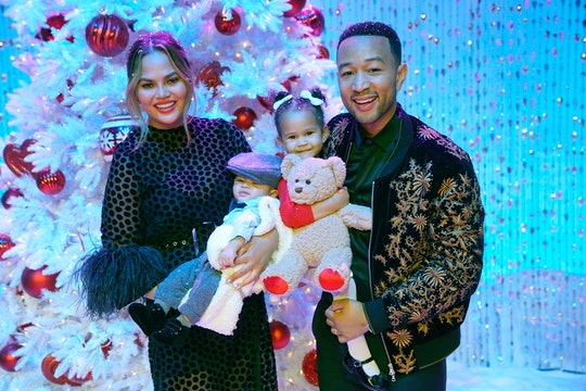 Chrissy Teigen's daughter Luna is finding her way with her little brother Miles