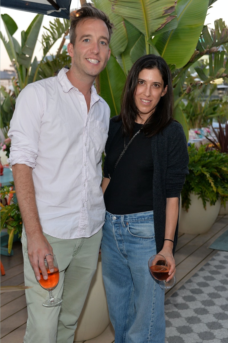 LOS ANGELES, CA - AUGUST 16: Kevin Keating and Laurie Trott attend LOFT and Yes Way Rose Celebrate Summer In LA at Mama Shelter on August 16, 2016 in Los Angeles, California.