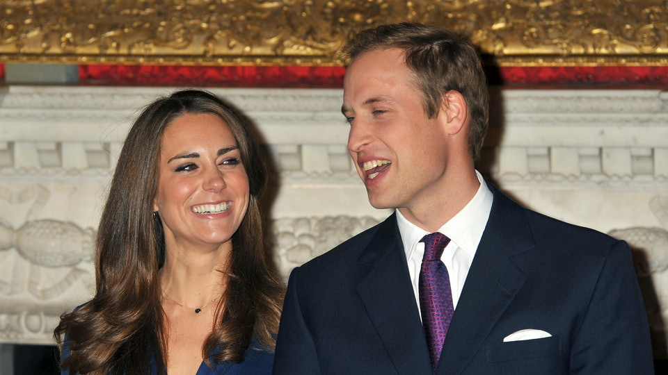 Prince William opened up about his proposal to Kate Middleton during a speech at Buckingham Palace.