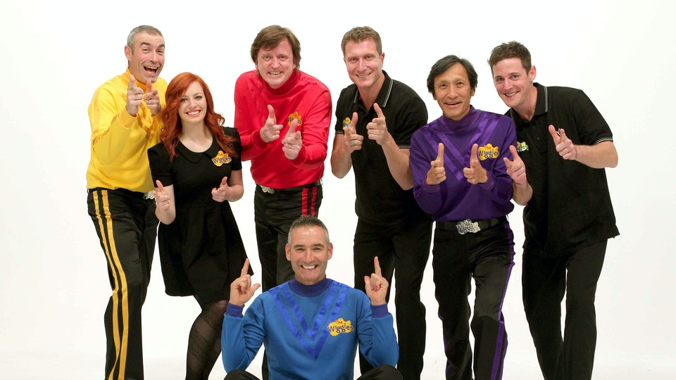 """The Wiggles, Blue Wiggle Anthony Field told reporters that Yellow Wiggle Greg Page Was """"Gone"""" after going into cardiac arrest just after the group performed a bushfire relief concert Friday."""