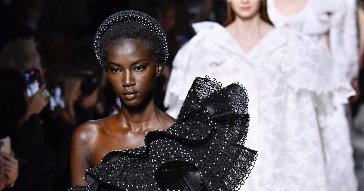 The Haute Couture Spring 2020 Hair Accessories Breathe New Life Into Established Trends