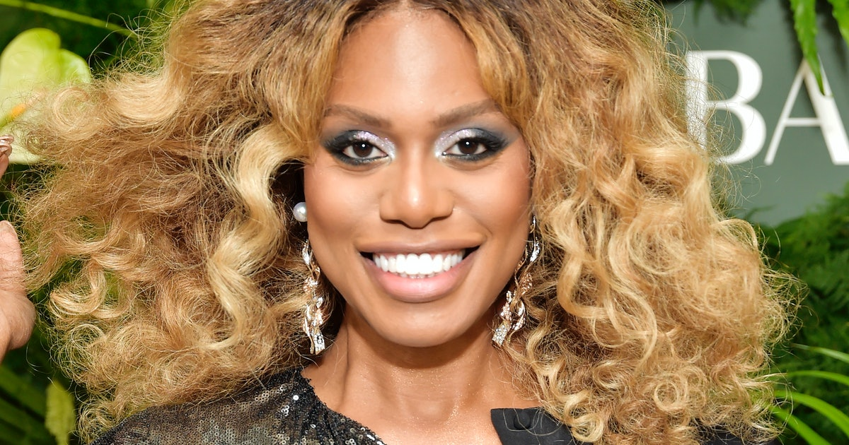 Laverne Cox's Natural Hair Suffered From Heat Damage — So Here's How She Fixed It