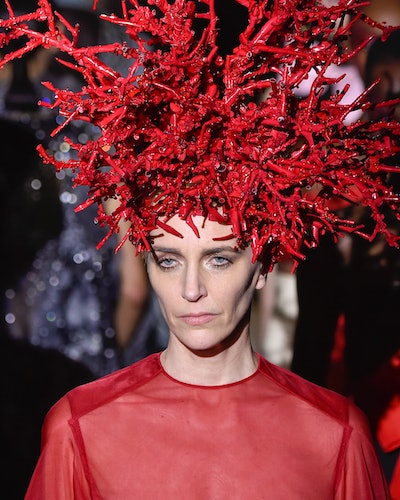 Haute Couture Spring 2020 hair accessories from Valentino.