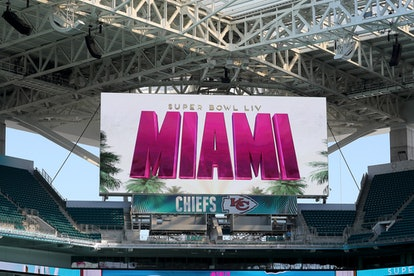 The 54th Super Bowl will be played in Miami, Florida, this year.