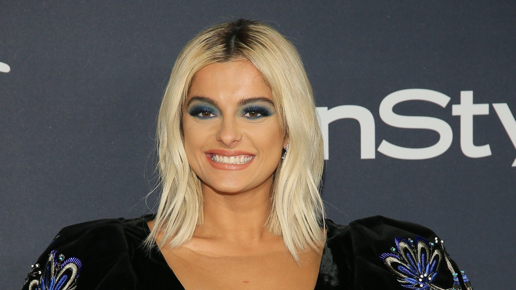 Bebe Rexha attends an event for InStyle.