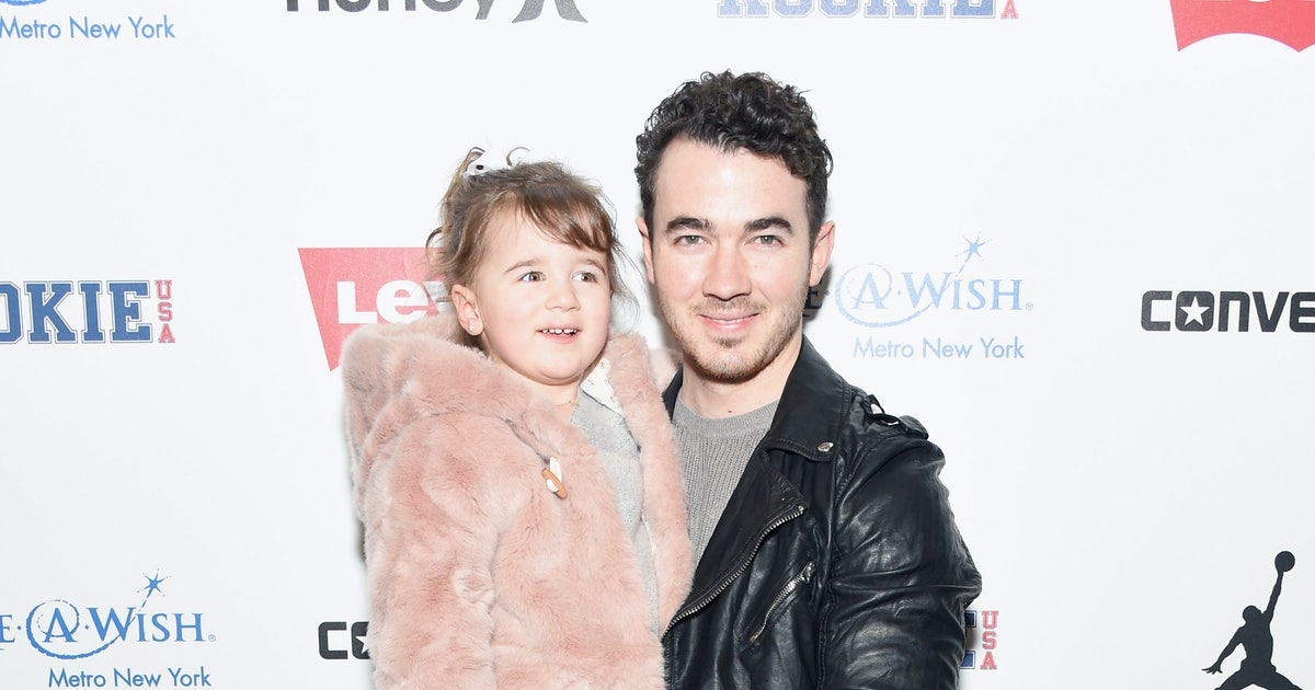 Photos Of Kevin Jonas With His Kids Show They're His Biggest & Cutest Fans