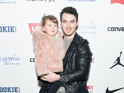 Joe Jonas' daughters, Alena and Valentina, are his biggest fans.