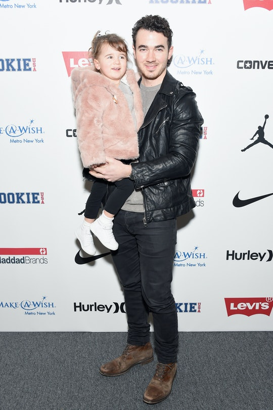 Joe Jonas' daughters, Alena and Valentina, are his biggest fans.