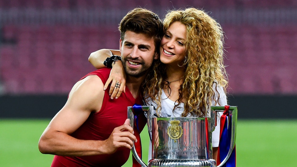 Shakira and her long time partner, soccer star Gerard Pique, have two kids together but are not married.