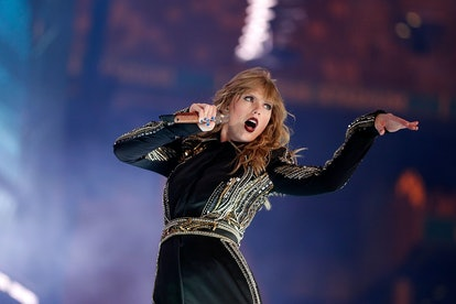 Taylor Swift performs during her Reputation tour in 2018