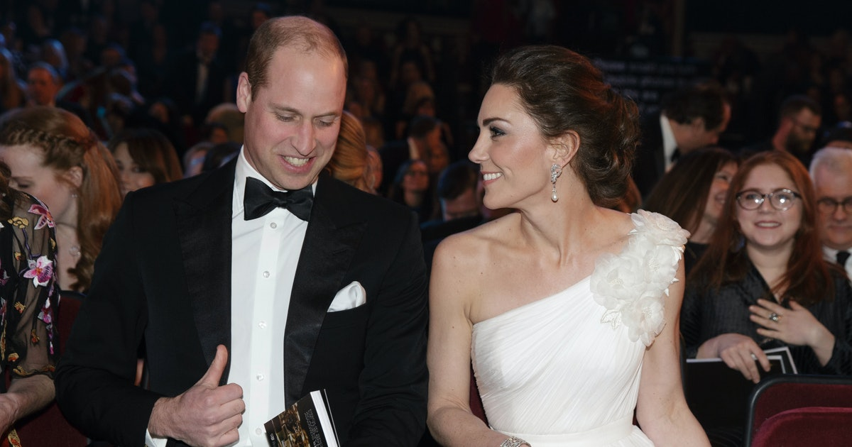 Prince William & Kate Middleton Confirm They Will Attend BAFTAs 2020
