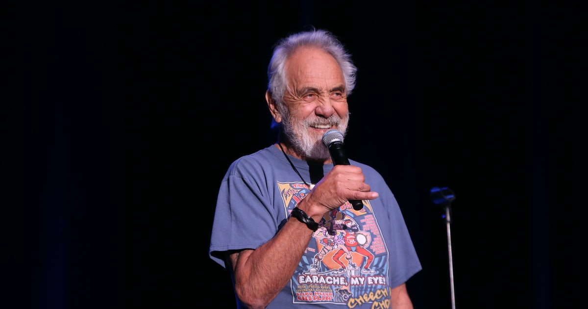 "Tommy Chong loves comic book movies, but his all-time ""greatest"" will shock you"