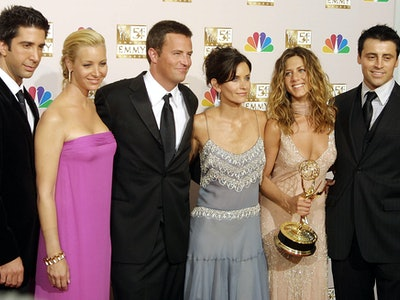 The 'Friends' cast misses the show just like we do, apparently.