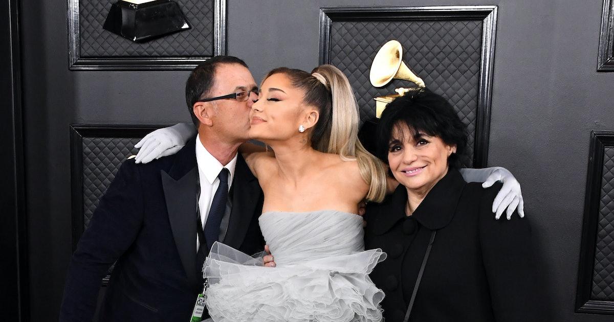 Ariana Grandes Parents Were Her 2020 Grammys Dates
