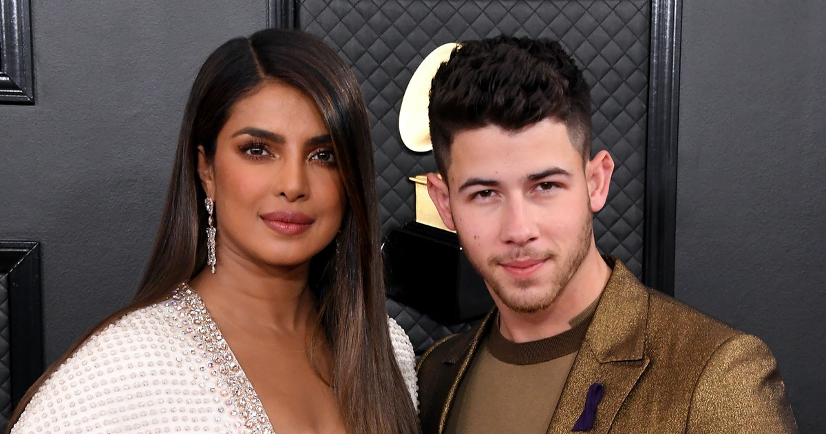 Priyanka Chopra's 2020 Grammys Outfit Has The Most Intense Plunging Neckline