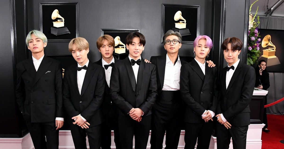 These Photos Of Bts At The 2020 Grammys Are Pure Perfection