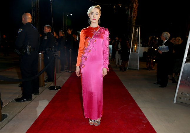 What will Saoirse Ronan wear to the 2020 BAFTAs? Her pink and orange Gucci gown is a fan favourite