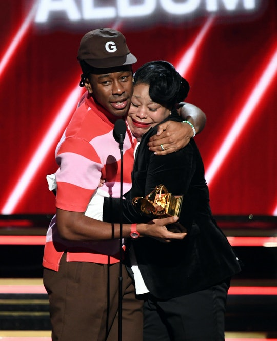 Tyler the Creator went on stage with his mom at the Grammys