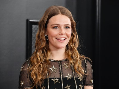 Grammy nominee Maggie Rogers said on the red carpet that she felt like she was at her wedding at the  2020 Grammys.