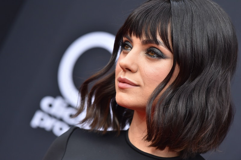 Mila Kunis just debuted light brown hair at the Sundance Film Festival