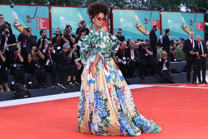 Will Zazie Beetz re-wear this voluminous Valentino gown to the 2020 BAFTAs?