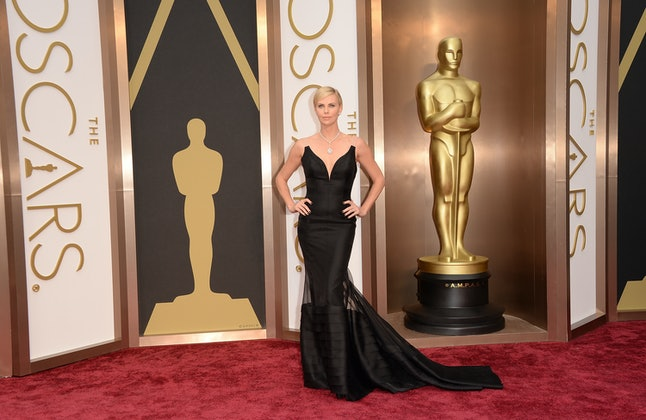 Charlize Theron's 2014 Oscars gown could make a comeback at the 2020 BAFTAs