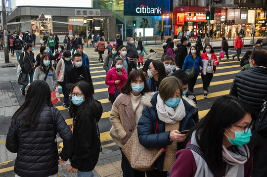 people in china trying to avoid coronavirus