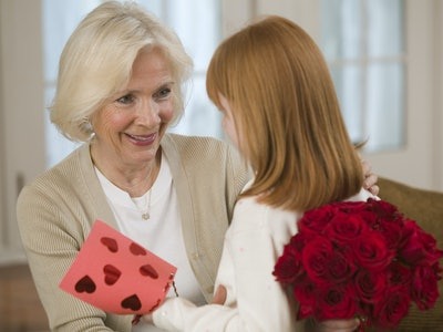 Take your kids to deliver Valentines at nursing homes to brighten the day of the seniors who live there.