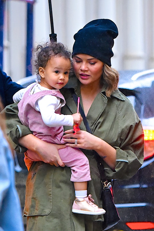 Chrissy Teigen put on a wild play with her daughter Luna.
