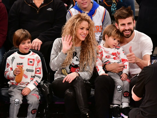 Shakira is the proud mom of two adorable boys.