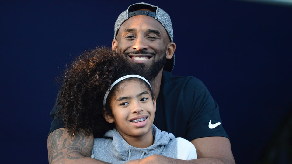 Kobe Bryant died alongside his daughter Gianna on Sunday.