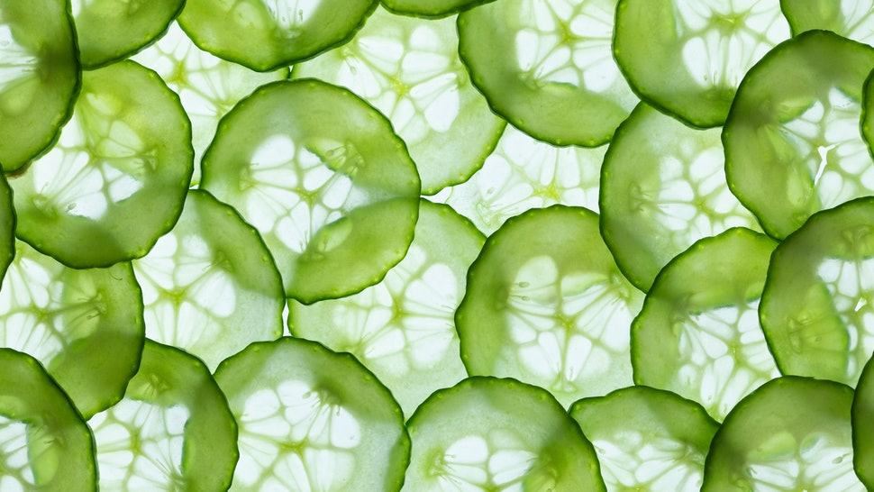 A pattern of cucumbers. Veganism may be good for brain health, but researchers haven't got enough evidence about how it might affect neurology.