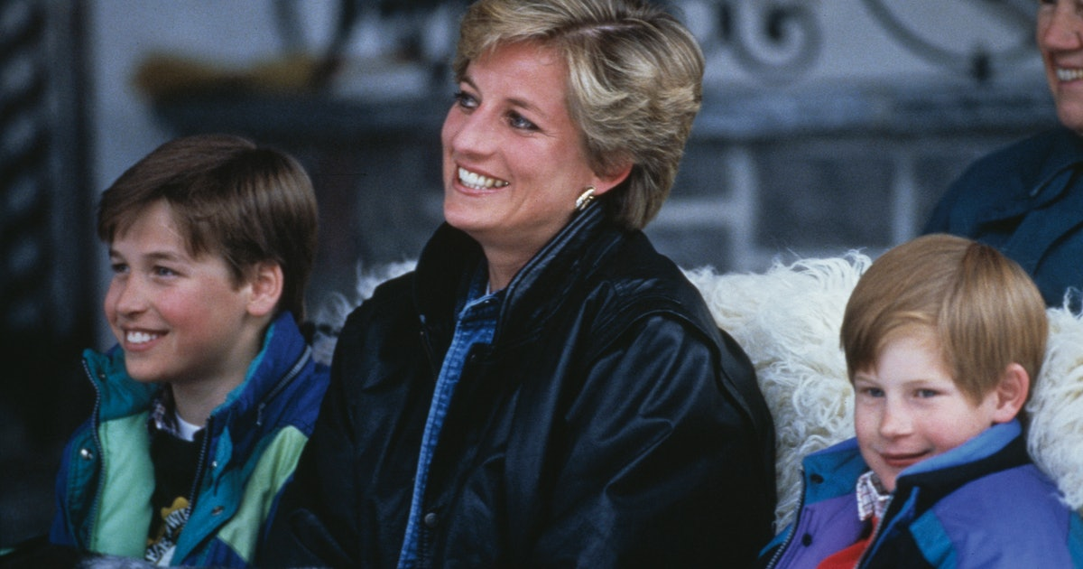 Princess Diana Wrote A Letter About Her Sons That Resonates More Than Ever