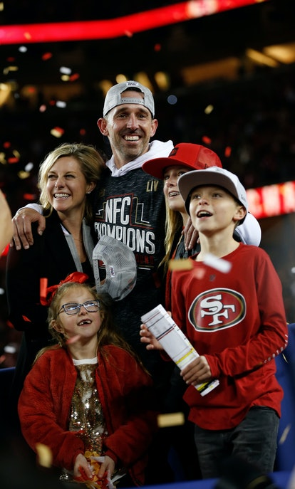 San Francisco 49ers head coach Kyle Shanahan has been married to his wife Mandy for 15 years.