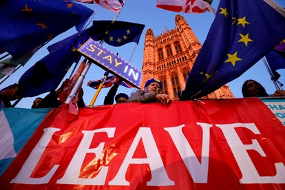 People's lives in the UK won't be affected by Brexit until the end of the transition period
