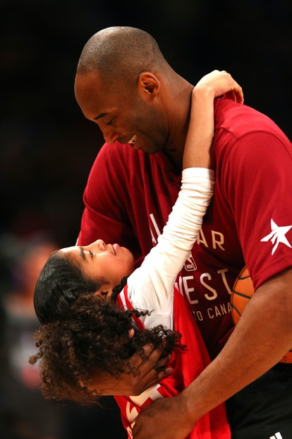 Vanessa Bryant uploaded a photo of Kobe & Gianna from the 2016 NBA All-Star game to her Instagram profile.