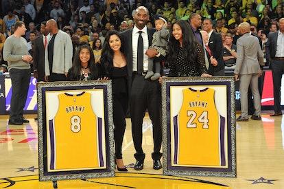 Kobe and Vanessa Bryant were parents to daughters Natalia, Gianna, Bianka, and Capri (not pictured).