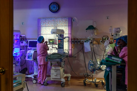 a nicu nurse in the neonatal intensive care unit